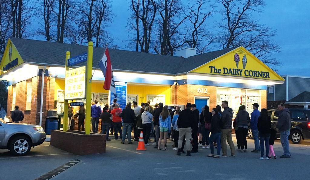 - April in Maine means...Ice cream shops reopen!The Dairy Corner in Scarborough is one of our favorites - but the debate is heated. Where do you get your scoops?