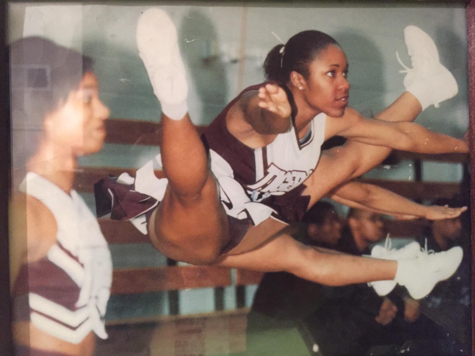 College Cheerleader.