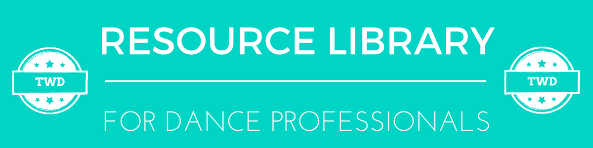 Resource Library for Dance Professionals Membership - The Working Dancer.png