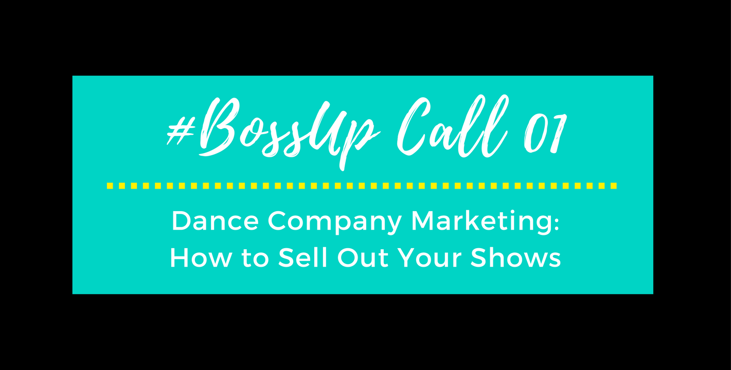 Boss Up Call 1 Cover - The Working Dancer.png