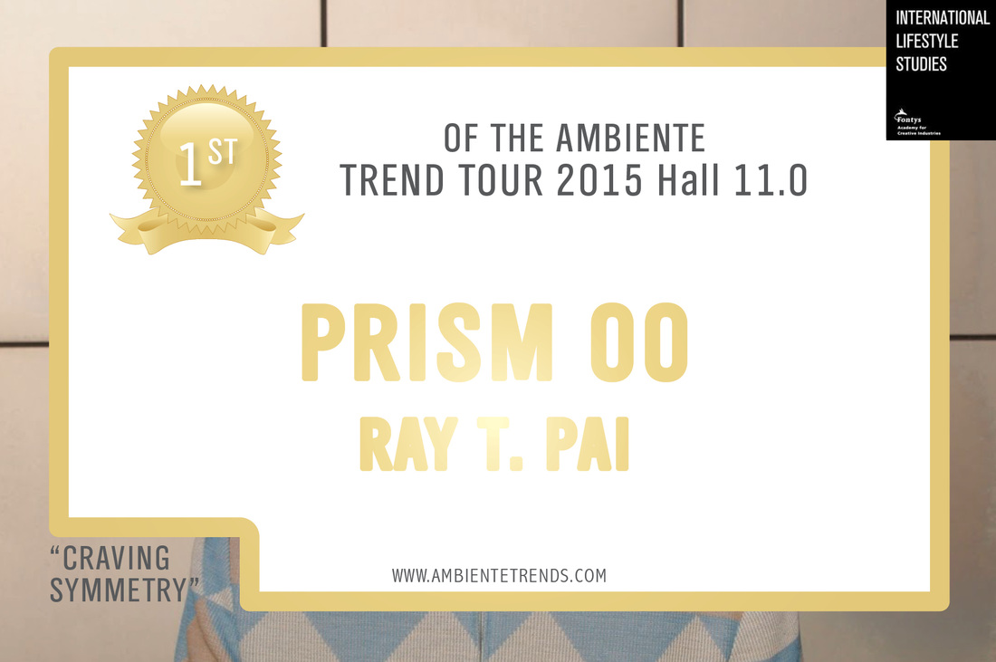 PRSIM won the 1st prize of 2015 AMBIENTE TREND by ILS.