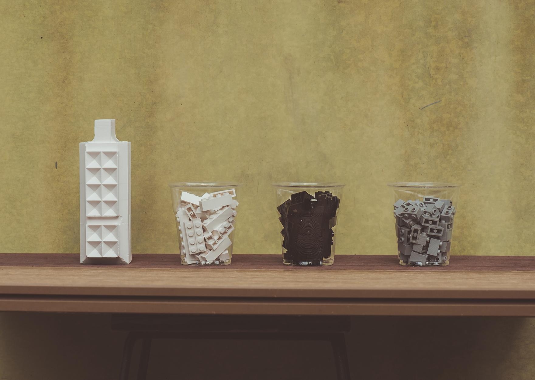 Studio Fumor, Brick Vase