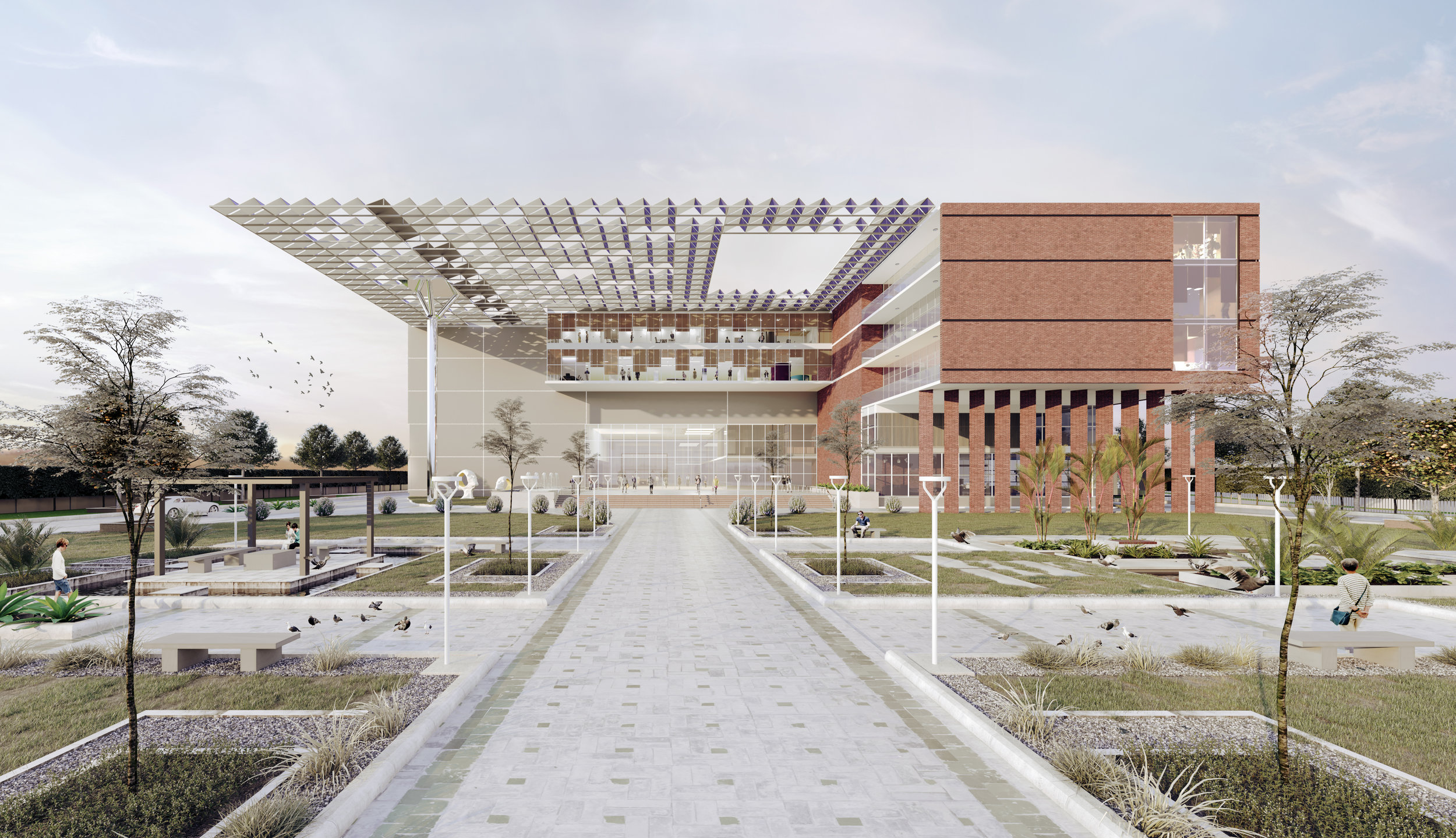 VNS OFFICE BUILDING, VARANASI    DESIGN DEVELOPMENT