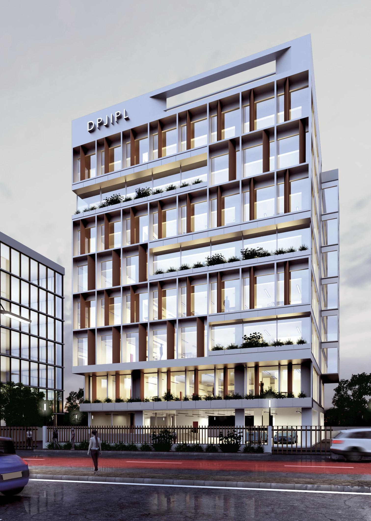DPJIPL OFFICE BUILDING, NAGPUR    CONCEPT