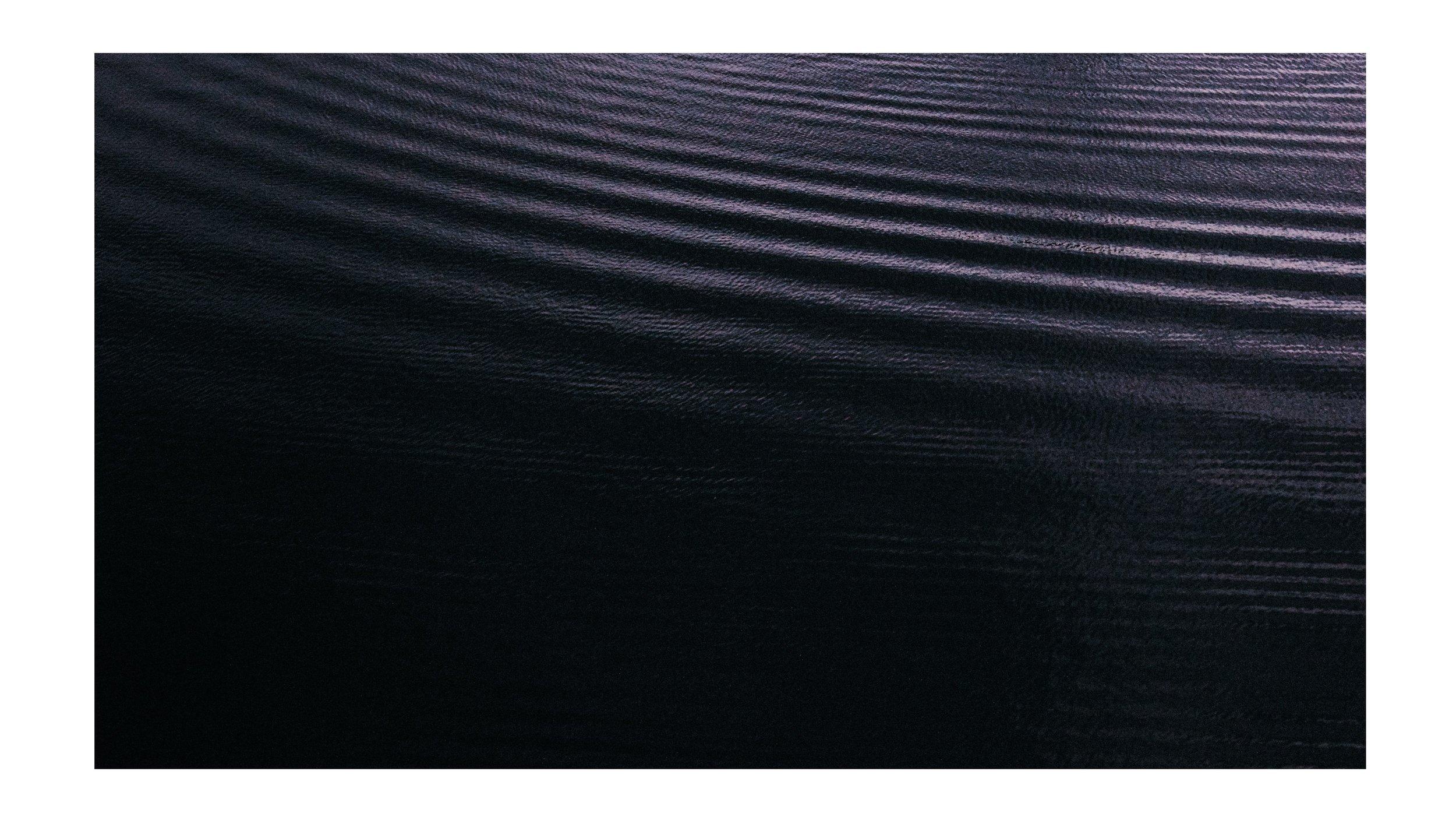 River  waves at night