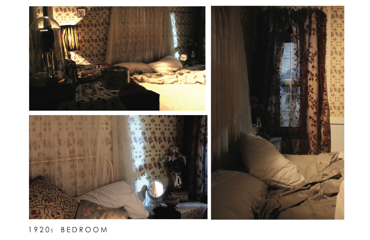 1920´s Bedroom  had a window and all