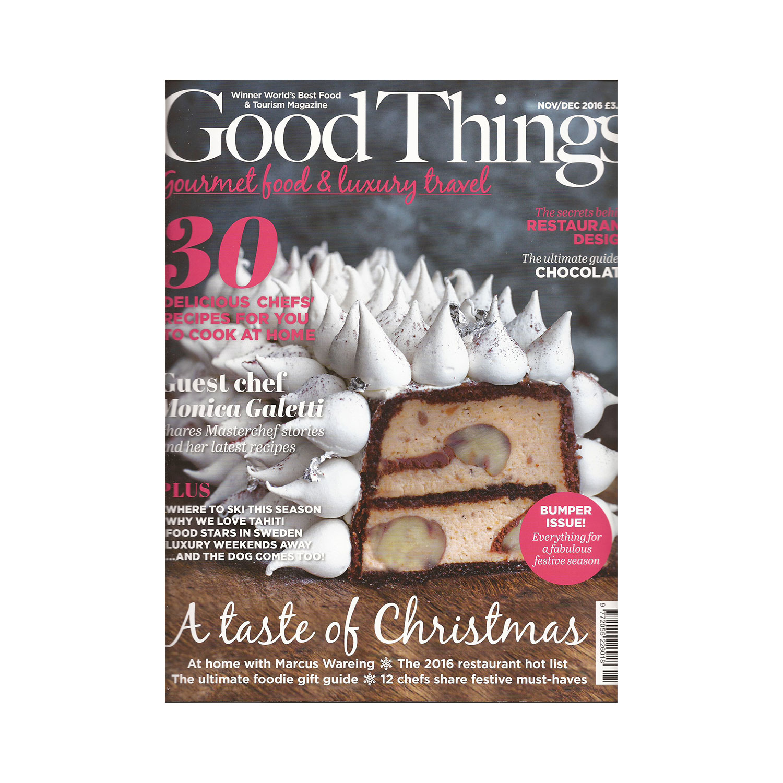 Good Things Magazine, December 2016   View PDF