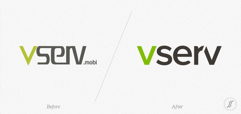 Yellow-Fishes-branding-agency-in-mumbai-and singapore-Vserv-brand-identity-rejuvenation-vserv-old-logo-changed-to-new-in-2013