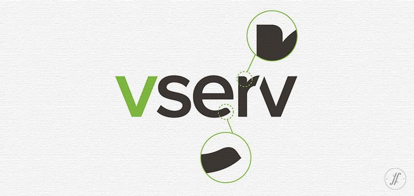 Yellow-Fishes-branding-agency-in-mumbai-and singapore-Vserv-brand-identity-rejuvenation-logo design-detail