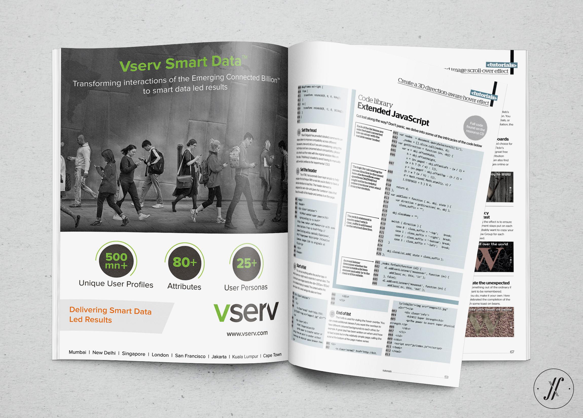 Yellow-Fishes-branding-agency-in-mumbai-and singapore-Vserv-brand-identity-rejuvenation-print-ad-design