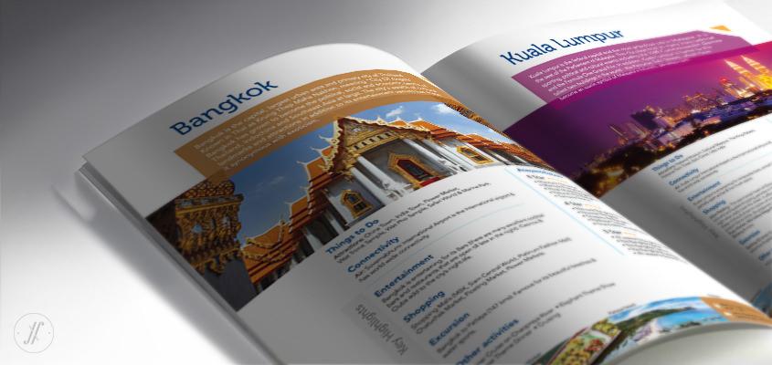 Yellow Fishes Branding Agency Mumbai and Singapore Jetair Tours Brand Communication Design - Managing Brand Identity - Brochure Design Inside