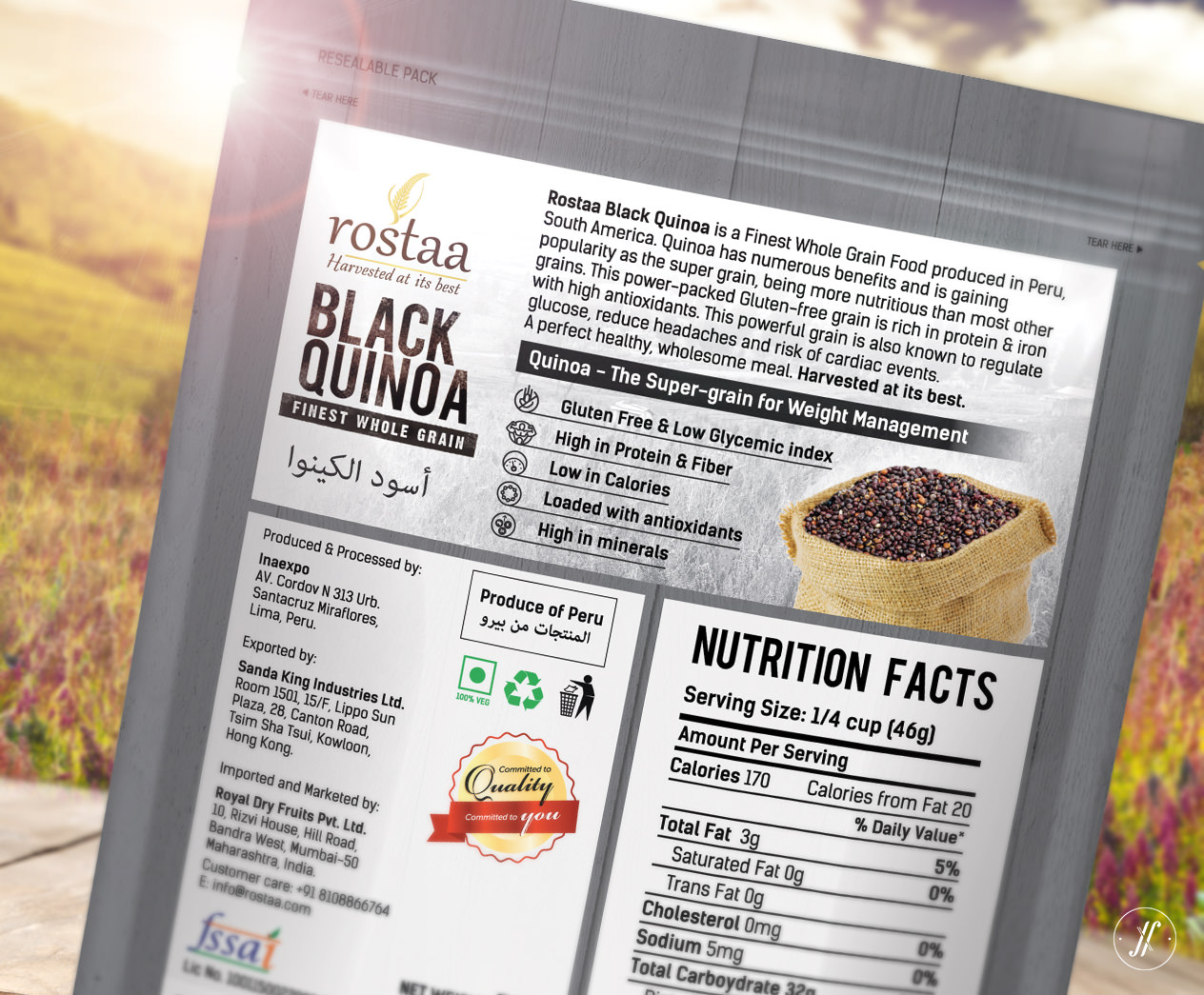 Yellow-Fishes-Best-Branding-Agency-Mumbai-India-Packaging-Design-Agency-Rostaa-Pacakging-Case-Study-Black-Quinoa-packaging-design-back-of-pack-design