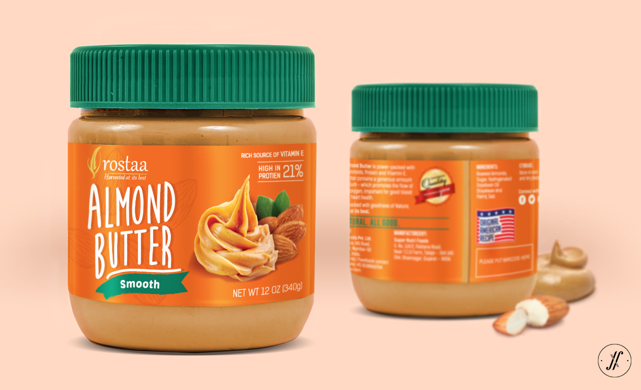 Yellow-Fishes-Best-Branding-Agency-Mumbai-India-Packaging-Design-Agency-Rostaa-Pacakging-Case-Study-Almond-butter-pacakging-design