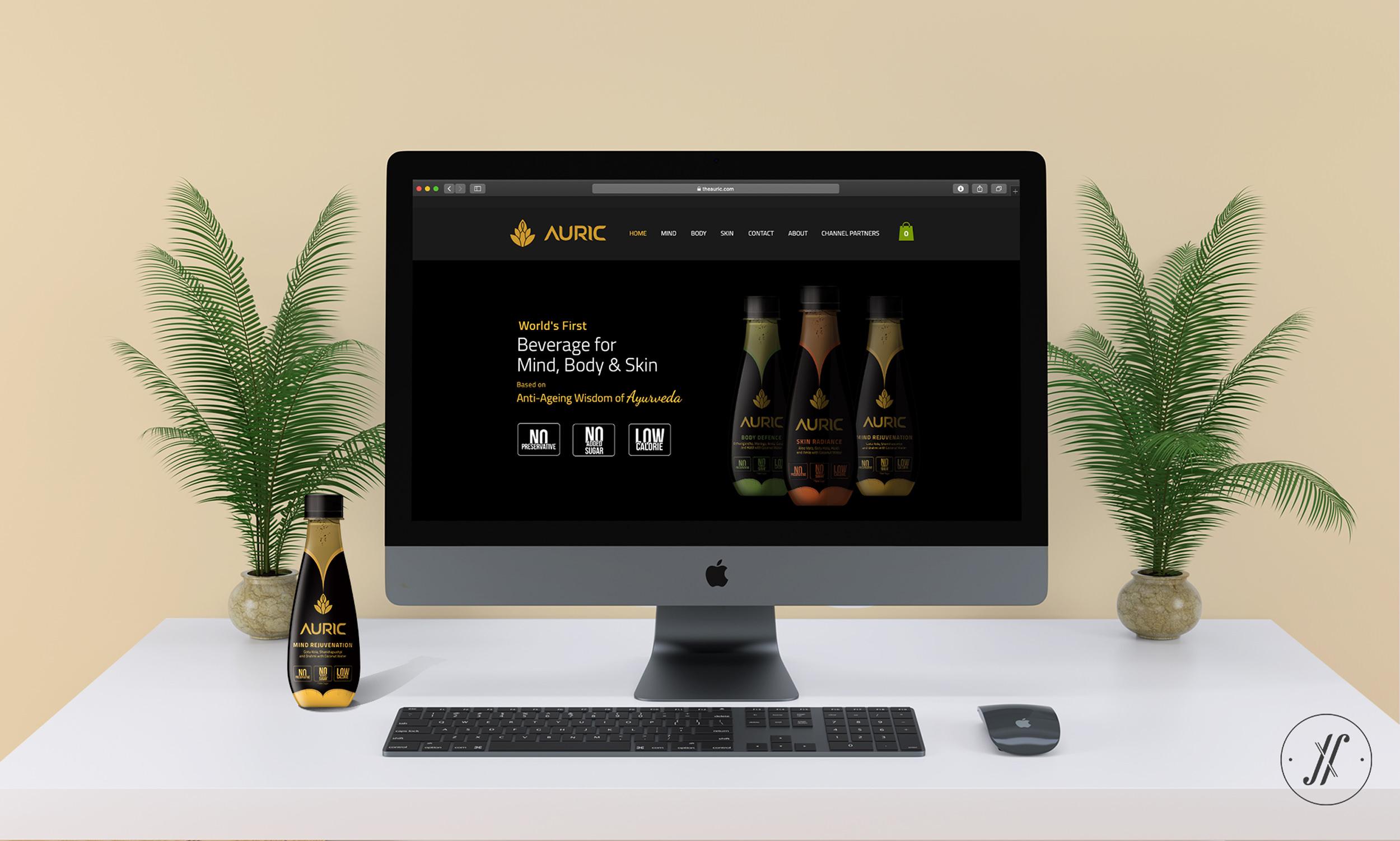 Yellow Fishes Branding Agency Mumbai Best creative branding strategy and brand design agency mumbai Auric website design