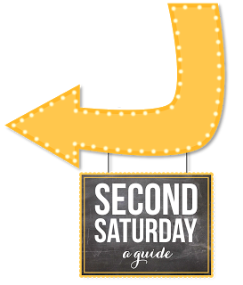 Second Saturday Happenings for July 9, 2016!