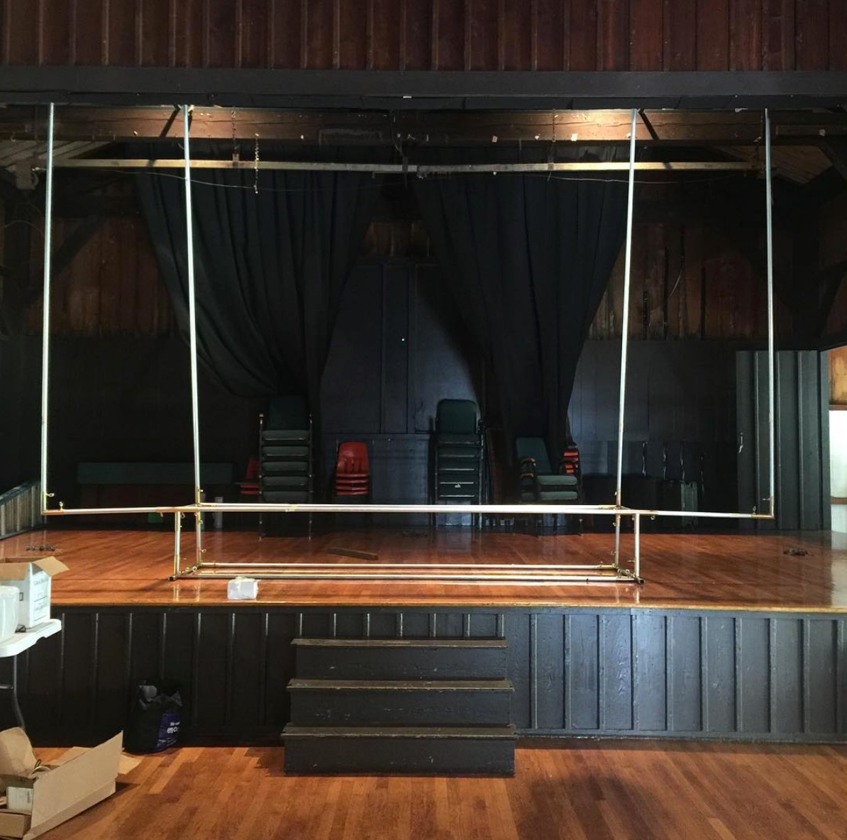Building of the screen. Photo Credit: Beacon Independent Film Festival
