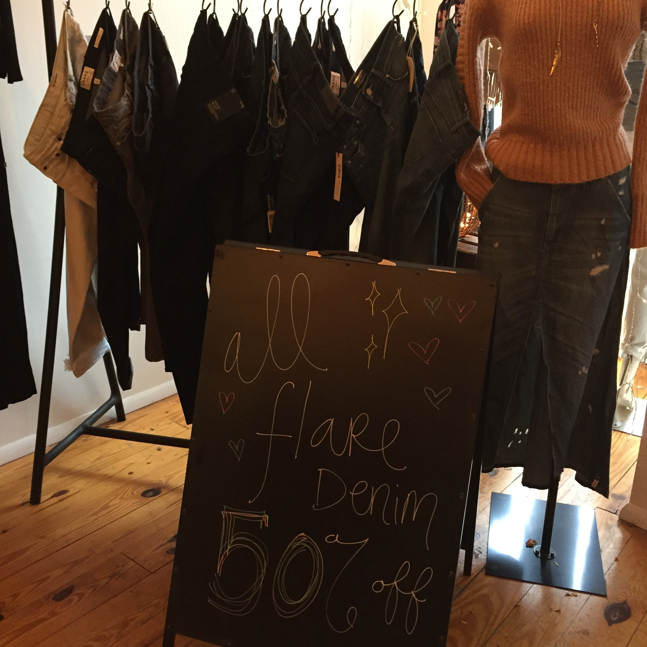 Denim sale at Style Storehouse
