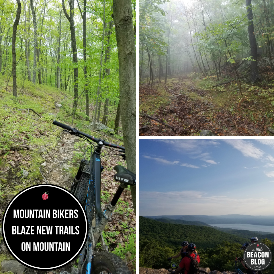Mountain Bikers Make New Trails On Mt  Beacon By Way Of