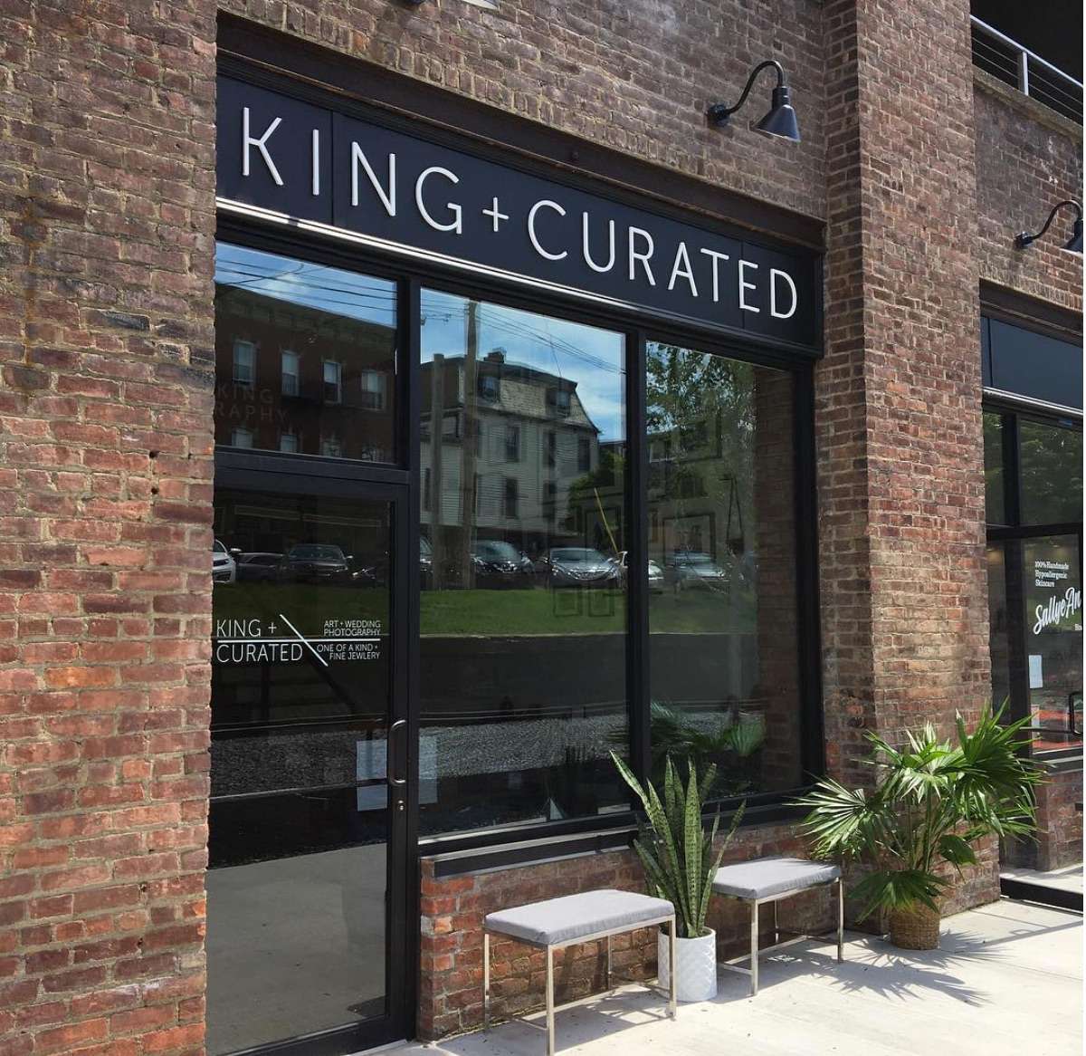 King and Curated, the combo wedding photography store and handcrafted jewelry store.