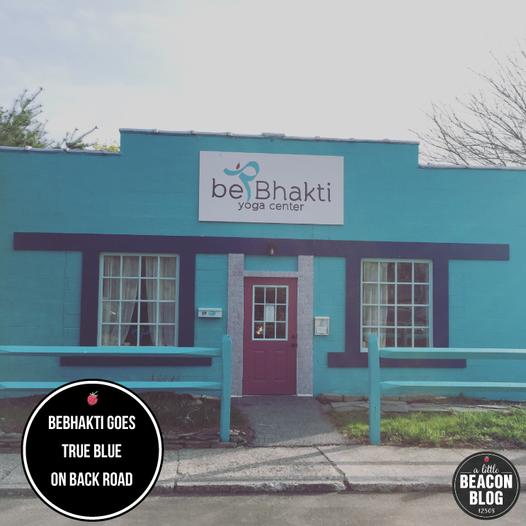 New paint job for beBhakti Yoga Center.  Photo Credit: Katie Hellmuth Martin