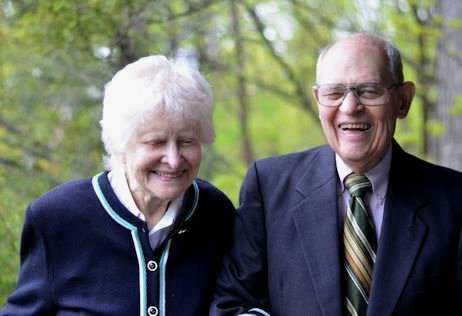Gwen and Bill Stevens, Howland Chamber Music Circle (HCMC) co-founders.  Photo Credit: Howland Chamber Music Circle