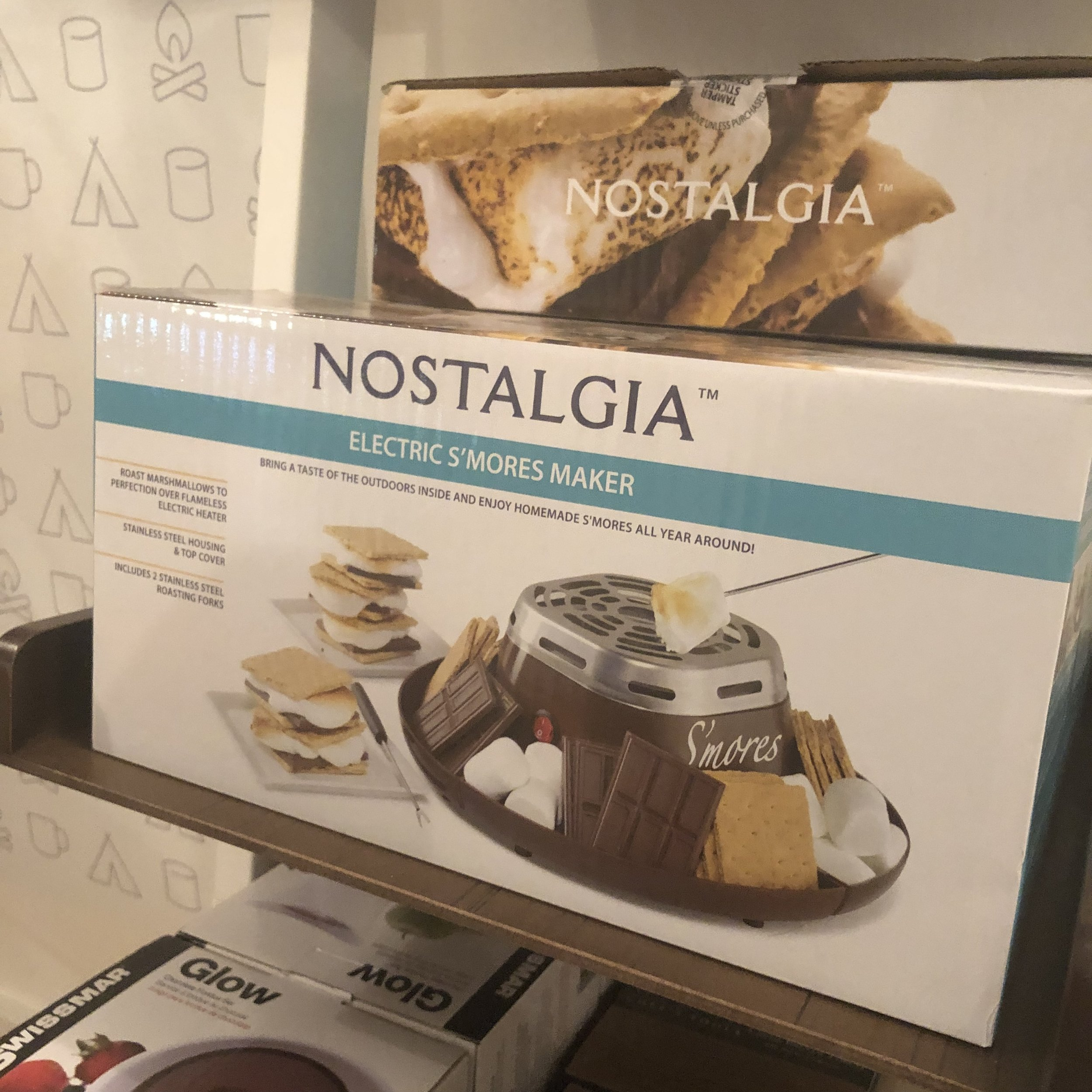 The Nostalgia electric s'mores maker  Photo Credit: Katie Hellmuth Martin