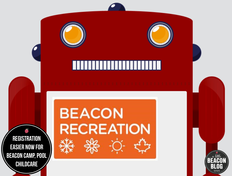 Photo Credit: Screenshot of Beacon Recreation's newsletter announcing the new online registration tool.