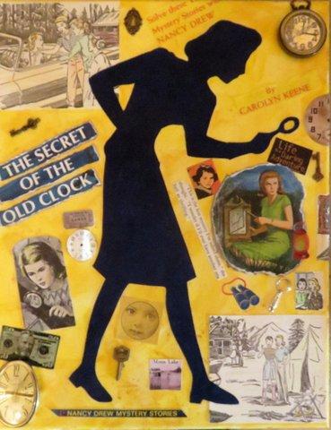 "Nancy Drew Inspired Jean Noack's ""The Secret""  Photo Credit: Jean Noack"