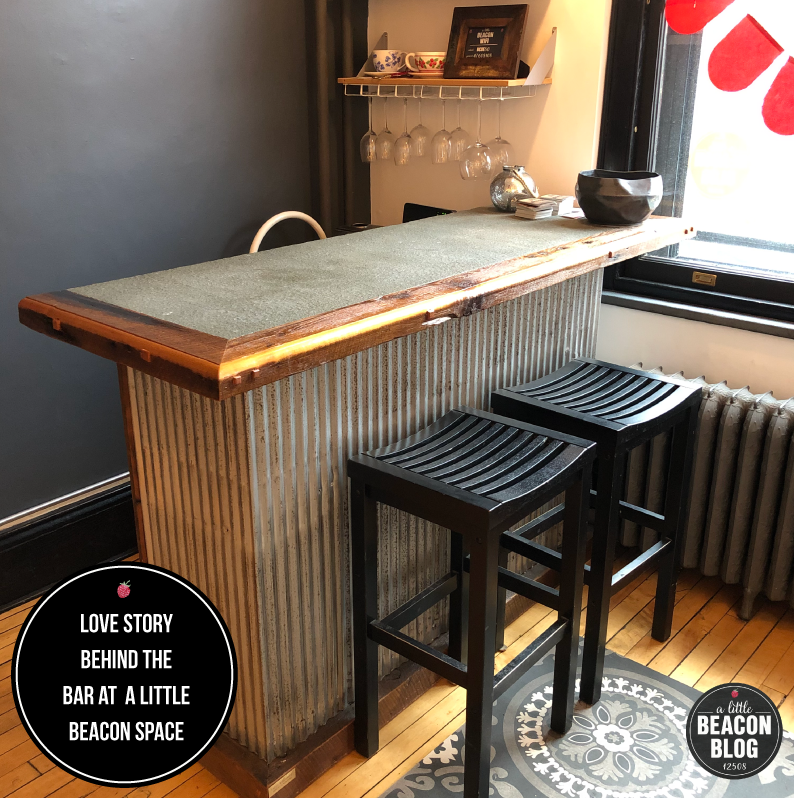 Learn more about the love story  behind this bar in A Little Beacon Space.