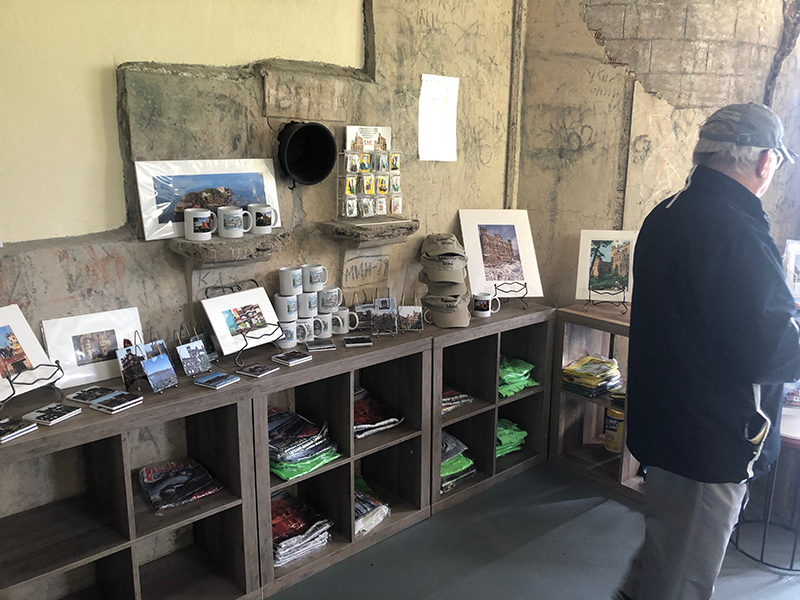 A proper gift shop at Bannerman Castle on Bannerman Island. Photo Credit: Olivia Abel