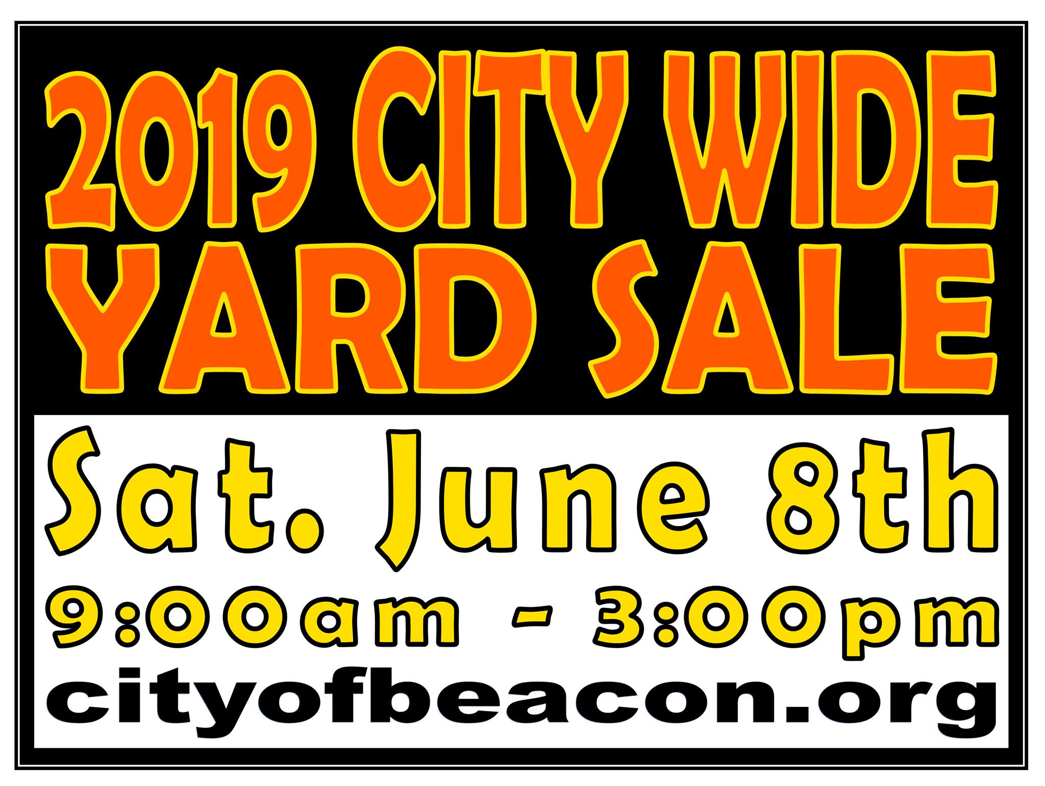 Beacon's City-Wide Yard Sale Is Back for 2019 — A Little Beacon Blog