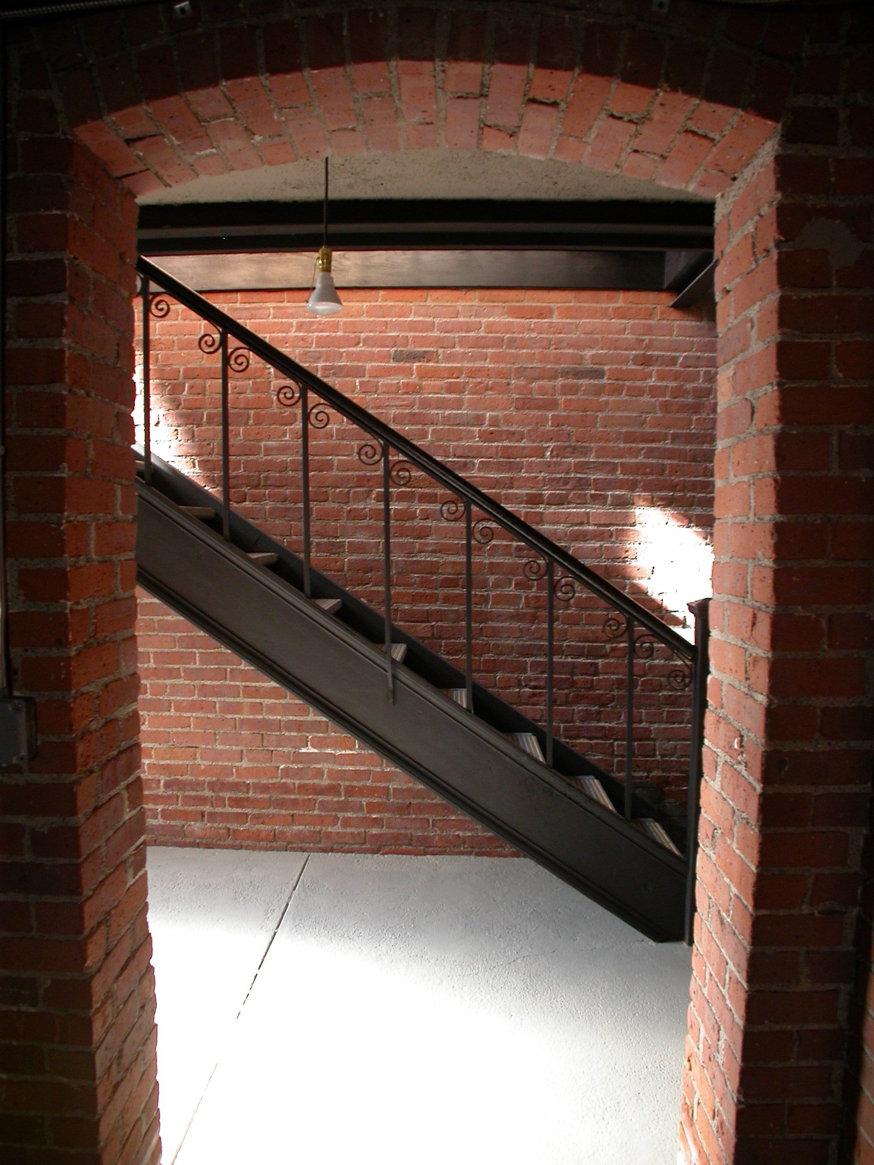 telephone building basement stairs.JPG