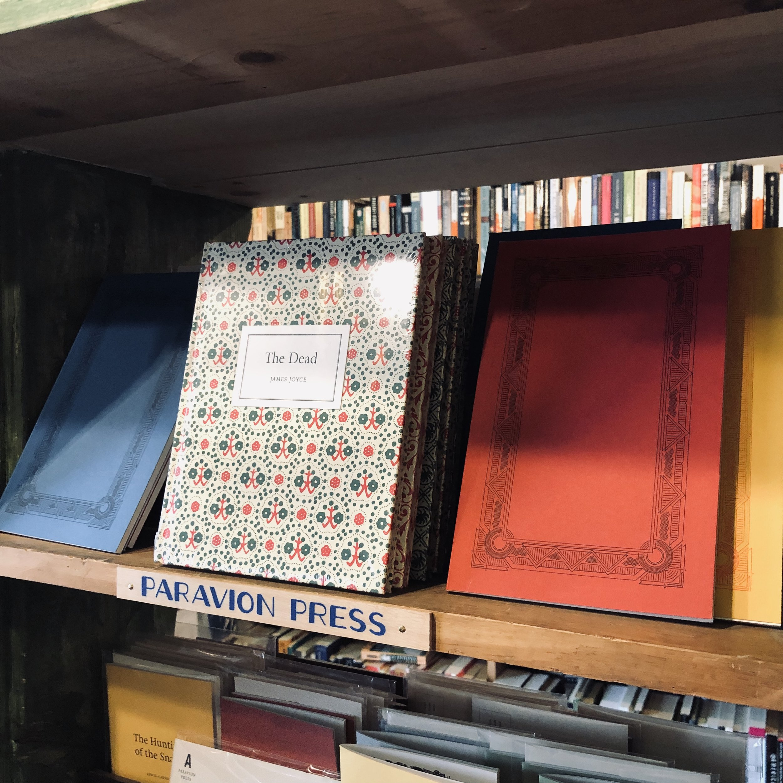 Blank but stately journals at Binnacle Books  Photo Credit: Katie Hellmuth Martin