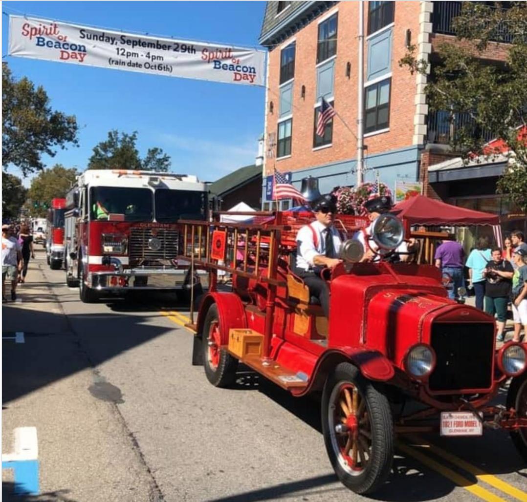 Beacon Fire Engines at Spirit of Beacon Day Parade 2019 - Photo by  @spiritofbeaconday