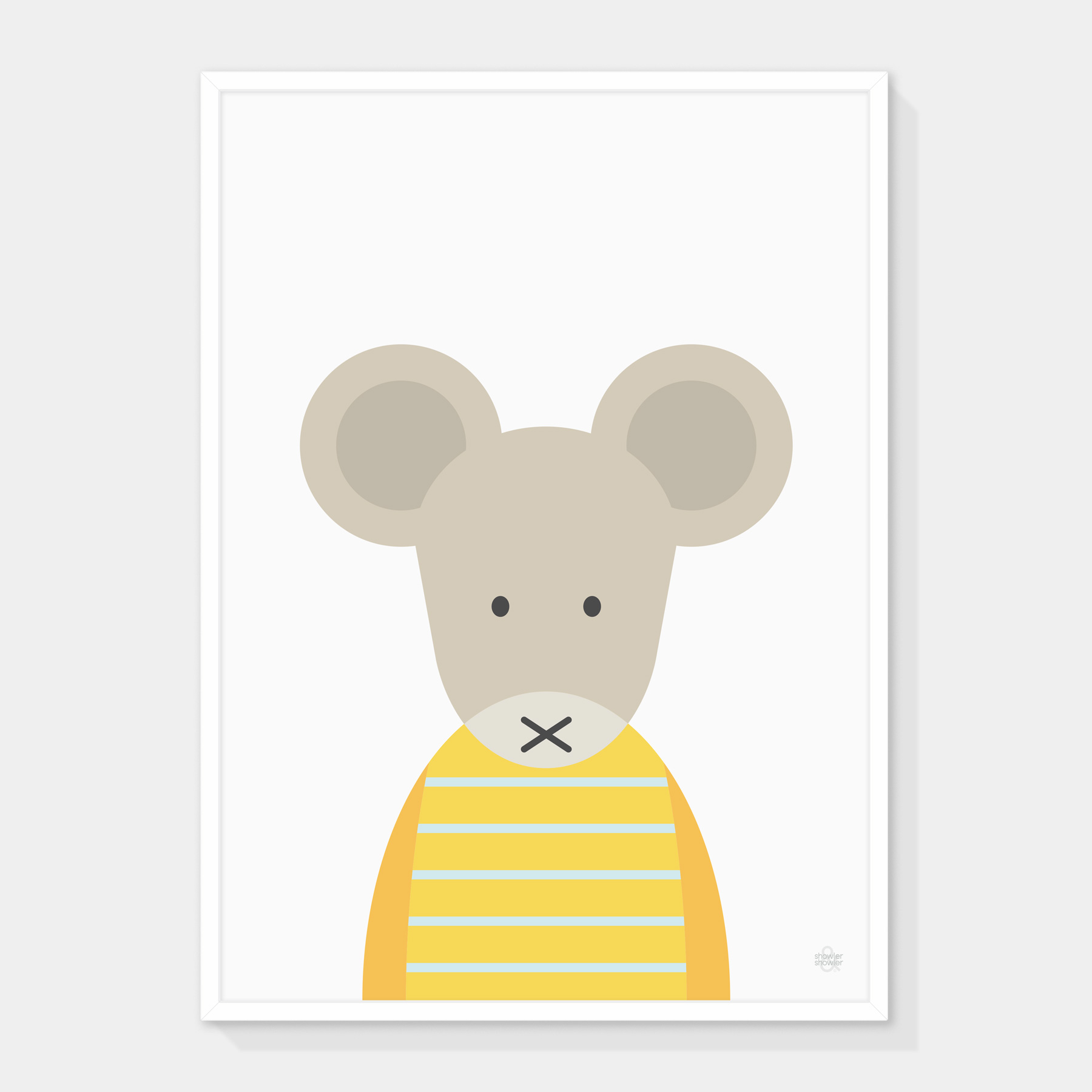 Yerllow-Striped-Mouse-Framed.jpg