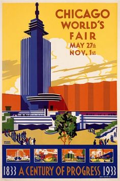 Expo Chicago 1933. Poster.