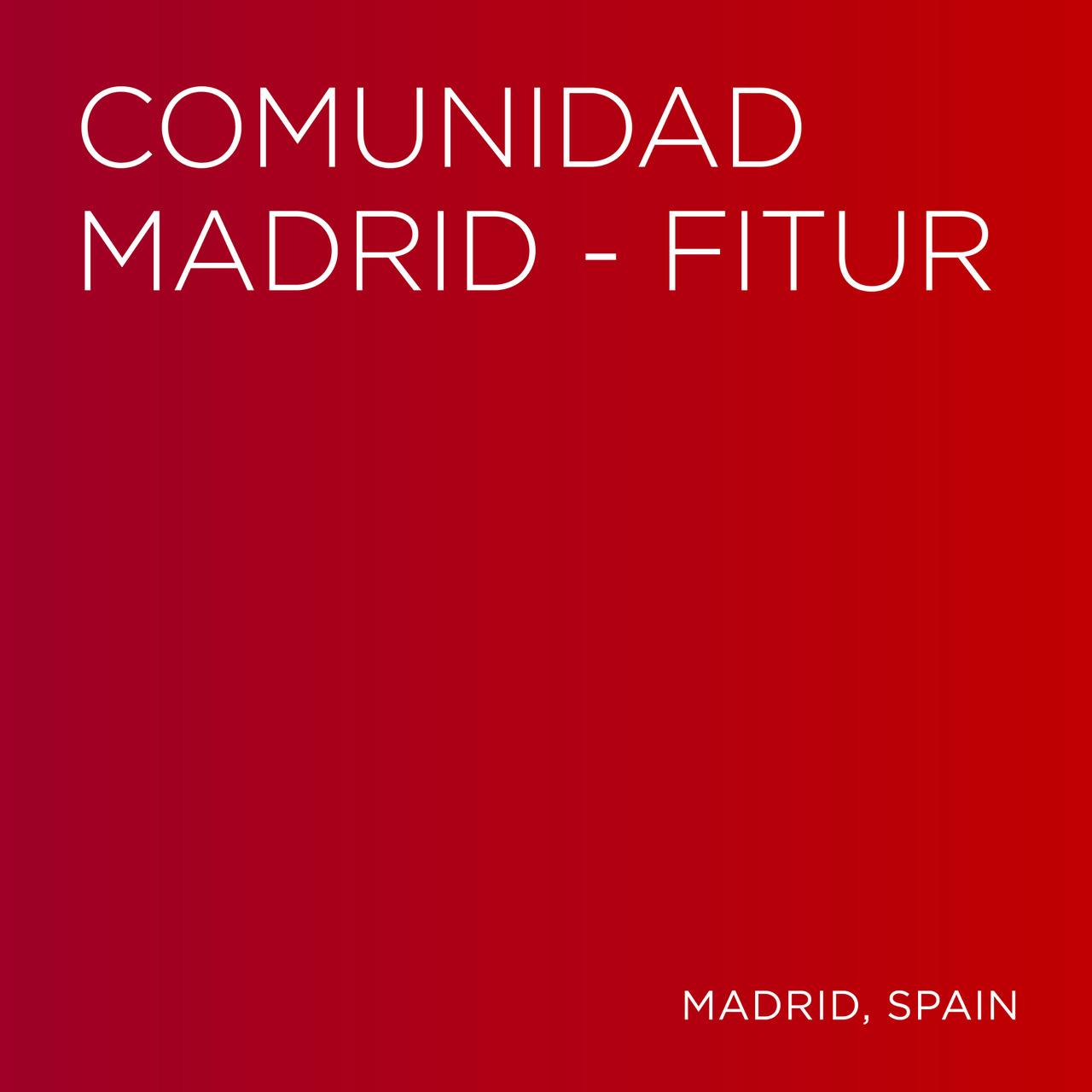COMUNIDAD DE MADRID FITUR