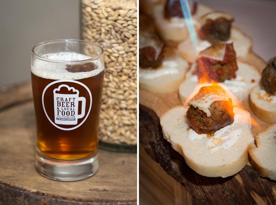 Hell Bay Brewing Co.  – English Ale, distinct malty toasted flavour and medium body.   Dirty Nelly's Irish Pub  – Lamb Meatball Sandwich, spiced tomato sauce, yogurt, mozzarella.