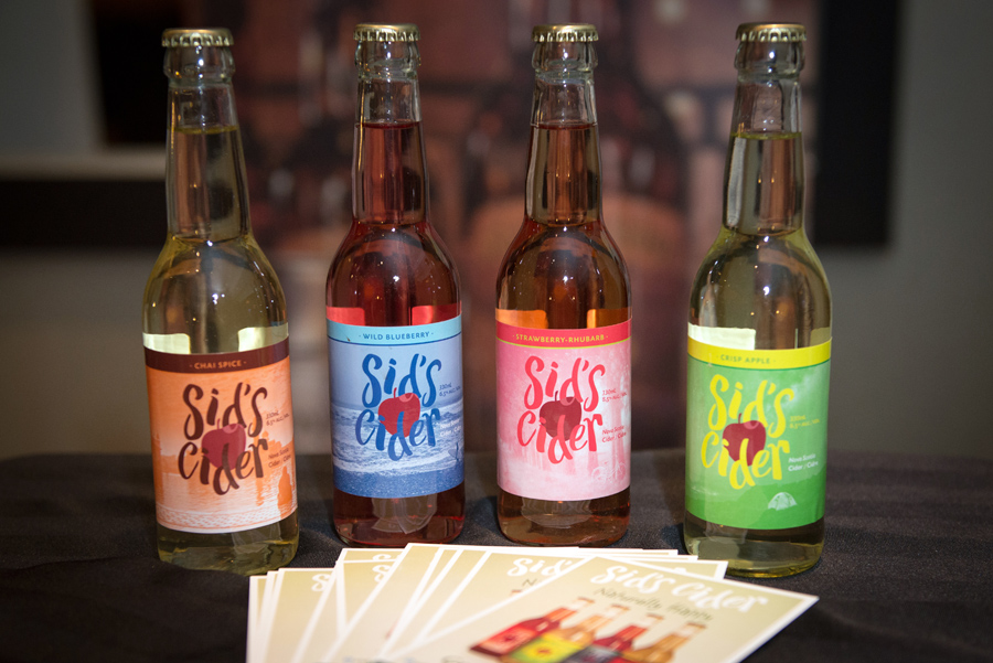 Stutz Cider  – Sid's Cider, I tried the strawberry rhubarb and really liked it.