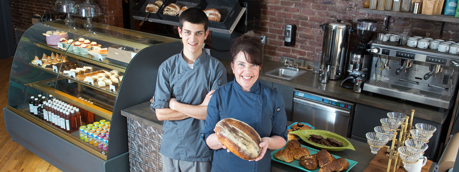 Donald and Laura photographed for the I Love Local HFX brochure.