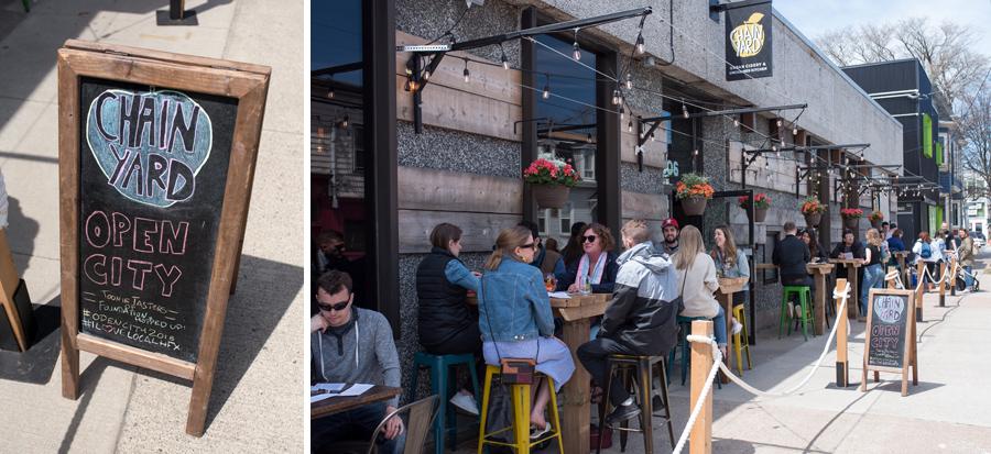 Chainyard Urban Cidery  &  Unchained Kitchen