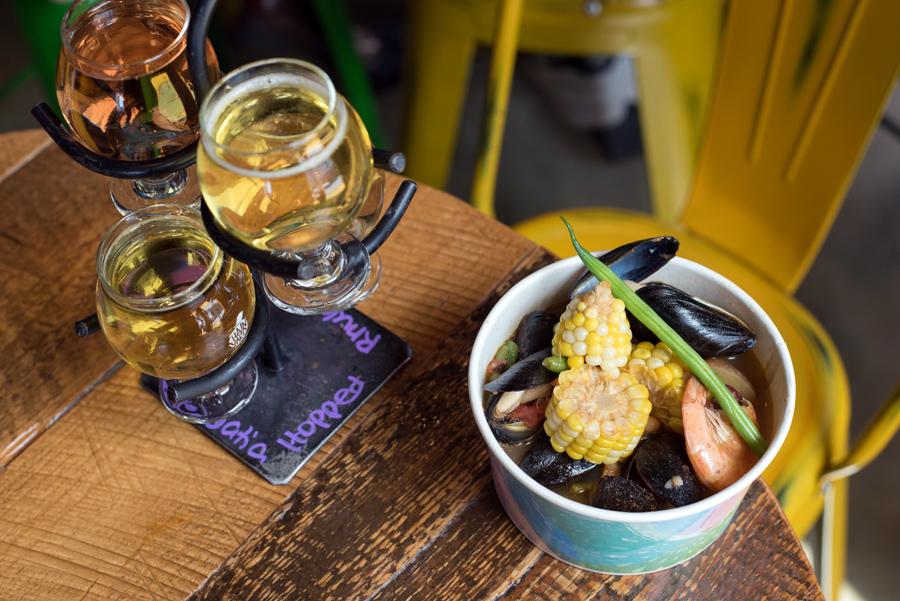 Cider Tasting and Seafood Boil