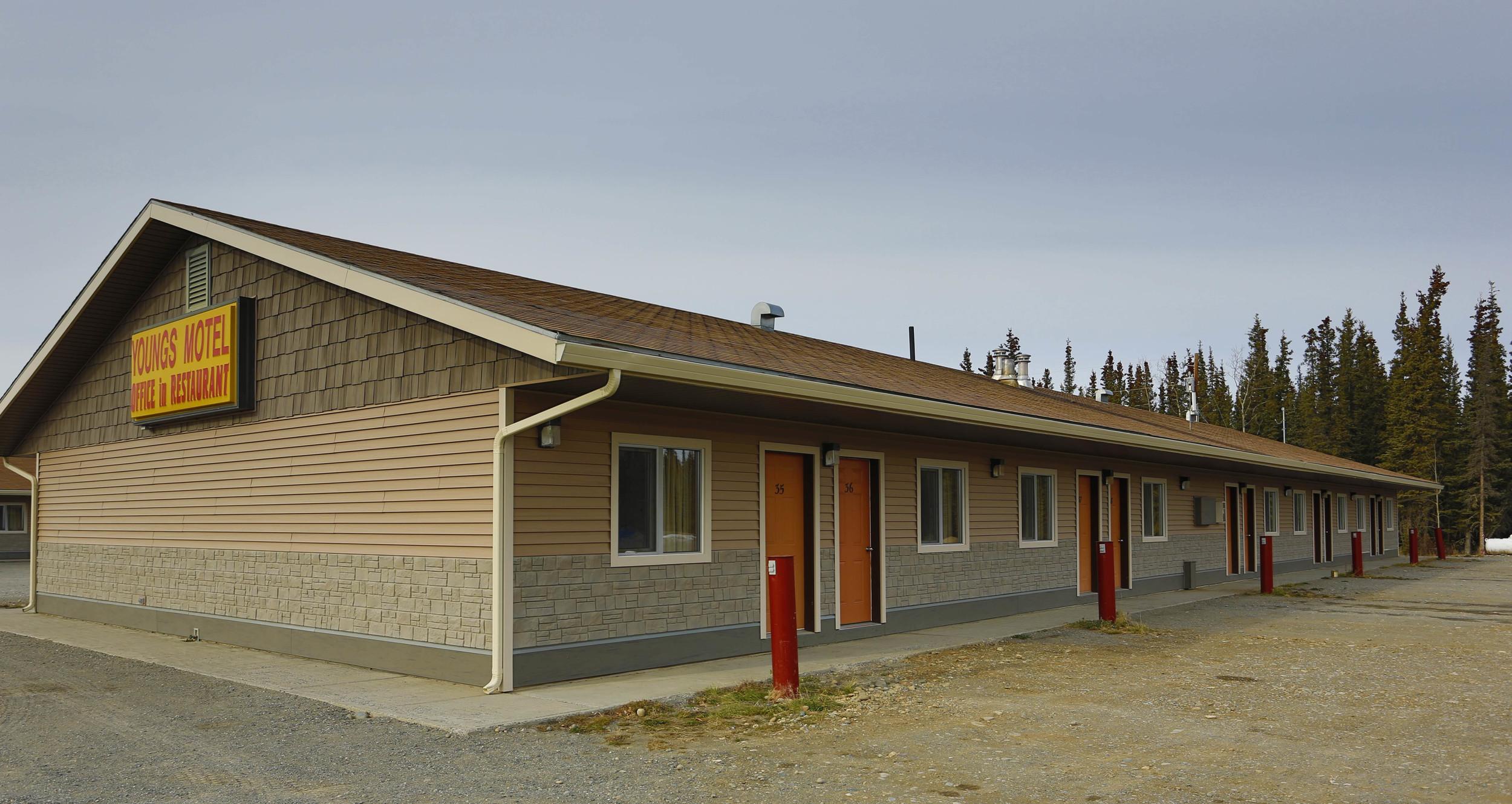 Young's Motel - Tok, Alaska