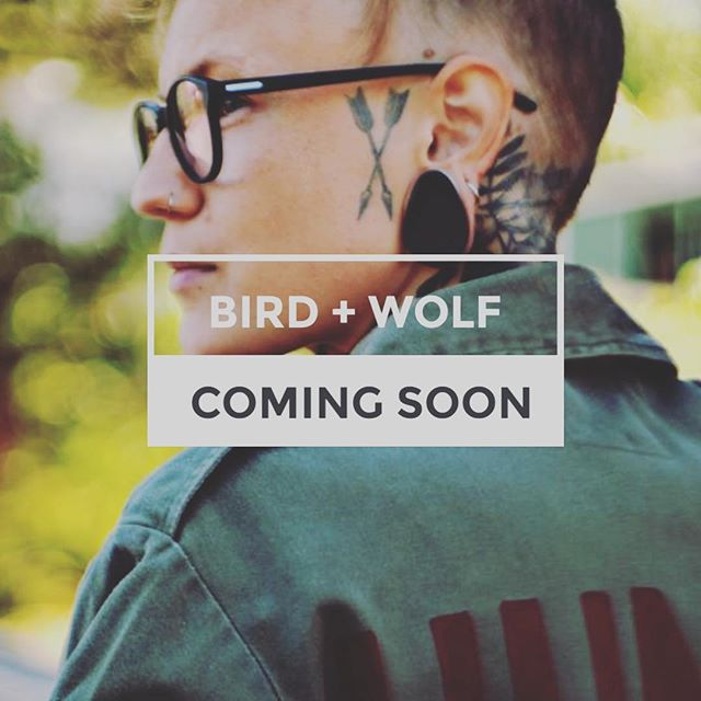 """While the amazing @birdandwolfuk are off doing @thespeedproject with @thesistrhoodgroup raising money for @uknepalyouthfou @thehummingbirdinitiative (it's a crazy 340 mile non-stop relay run from LA to Vegas), I'm putting the finishing touches to their fabulous new website. I. LOVE. THIS. BRAND. #genderneutral #sustainable ex-army #jackets #boilersuits #bags with inspiring slogans printed on the back or your own bespoke wording. What's not to love. No wonder the awesome @katyhillofficial called them """"the coolest brand on the planet"""" 💚🖤💜❤️💙🧡💛"""