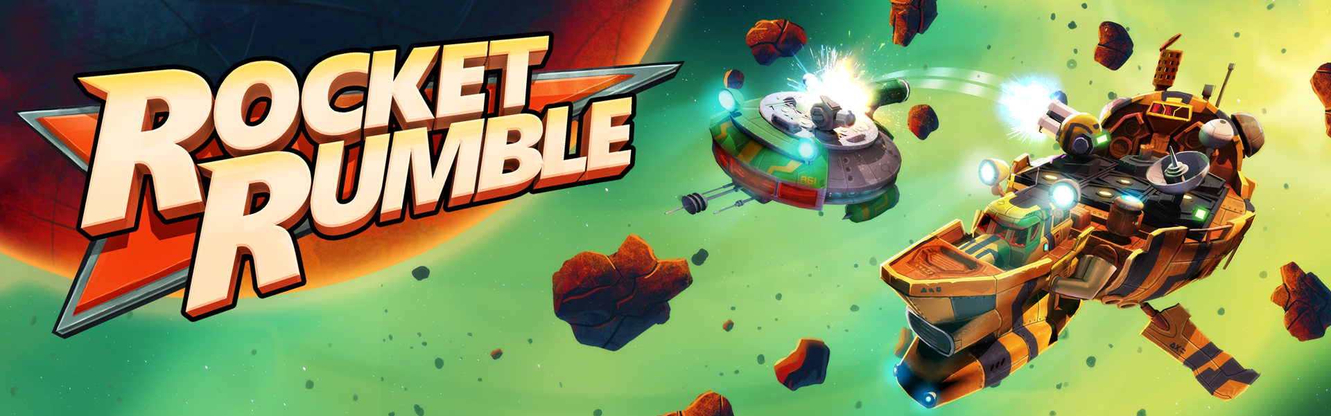 Small Jelly's New game: Rocket Rumble!
