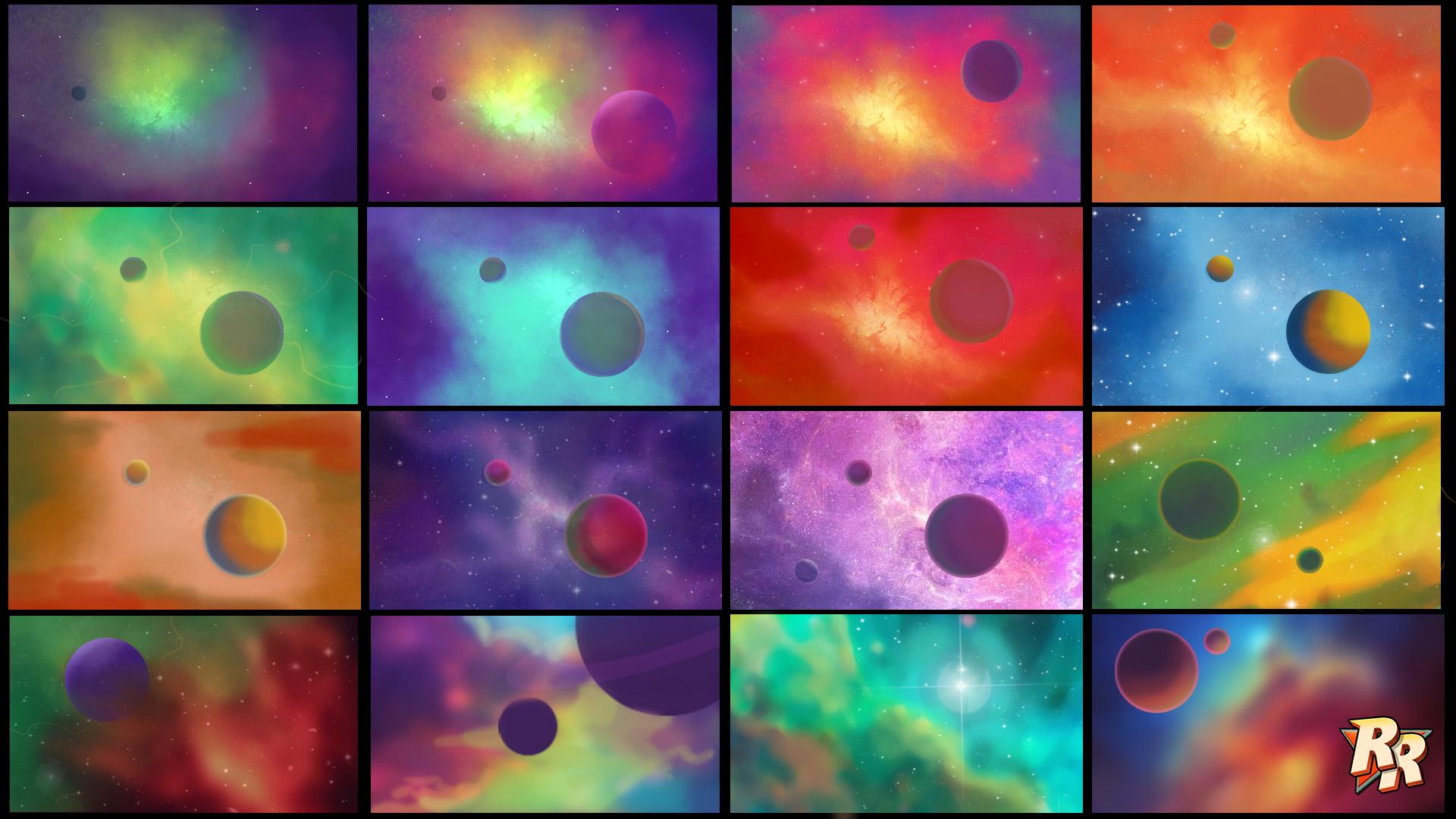 Exploratory Colour Thumbnails