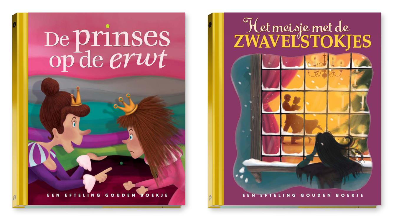 Efteling Gouden Boekjes | illustrator Coen Hamelink | Uitgeverij Rubinstein | AD | Efteling
