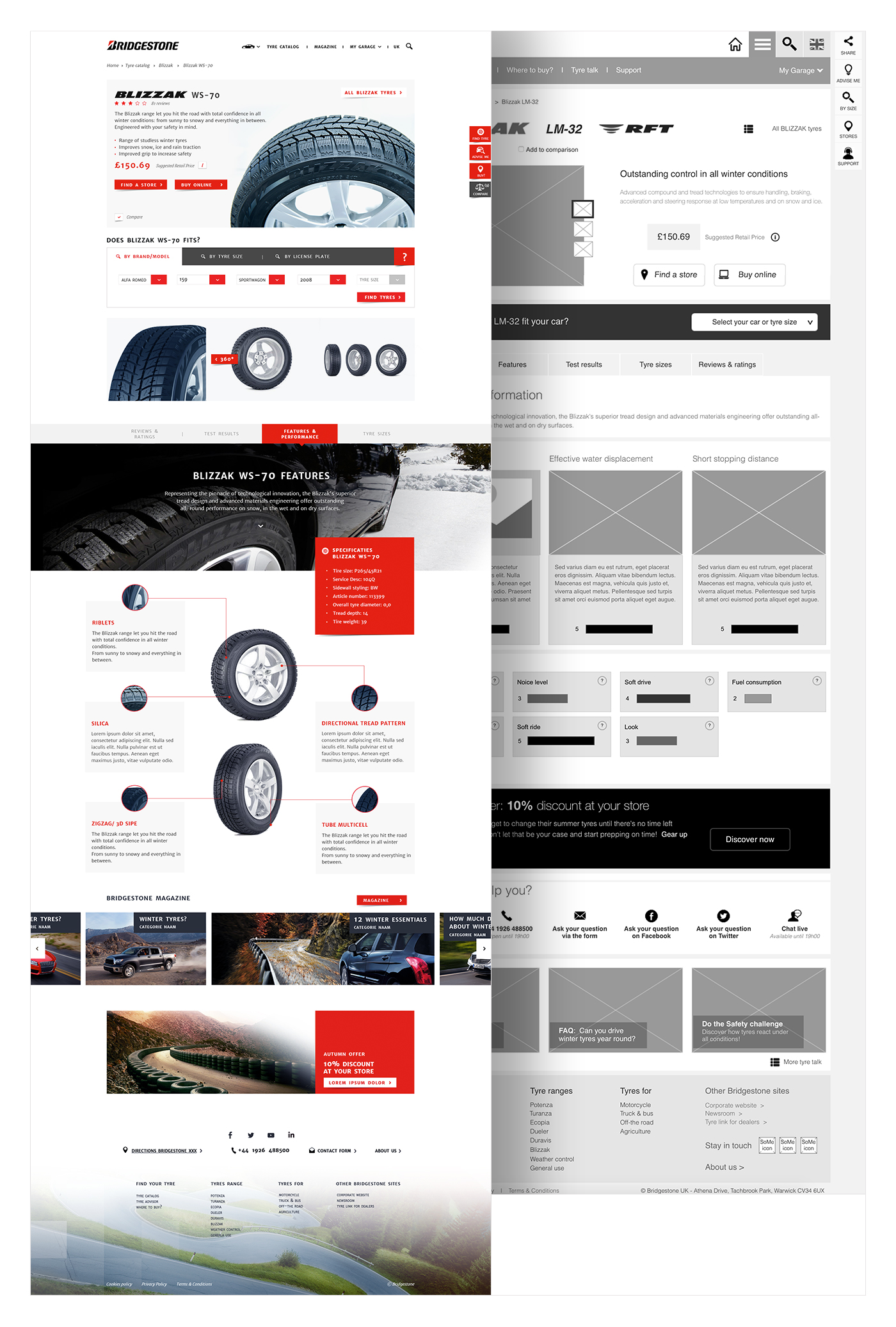 © Wireframes Product Detail Page:  These Days  UX team (2014)