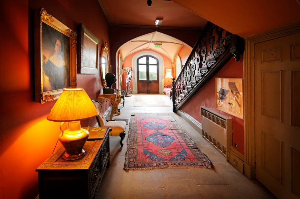 The atmospheric interior of the Big House that Artists are free to explore and enjoy during their stay