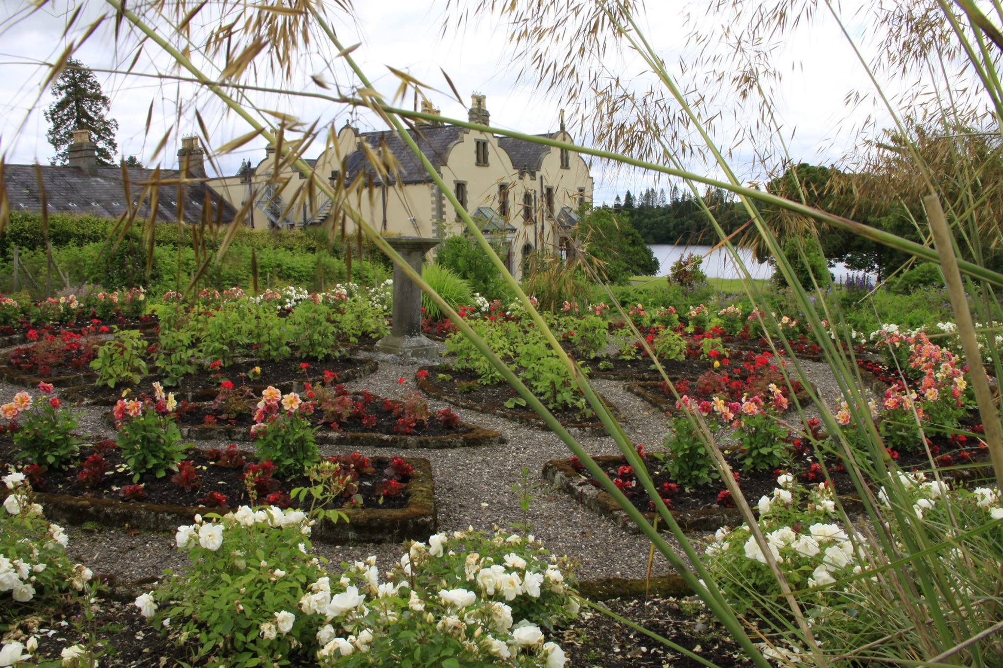 The beautiful grounds of the Centre located in a tranquil setting amid the lakes and drumlins of County Monaghan